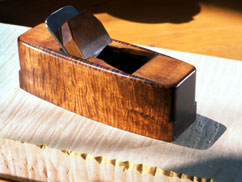 Coffin smoothing plane